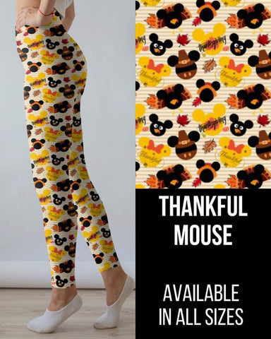 Thankful Mouse Leggings