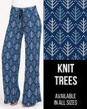 Knit Trees Lounge Pants