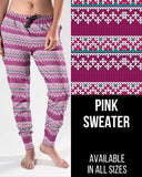 Pink Sweater Jogger