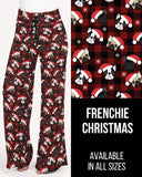 Frenchie Christmas Lounge Pants