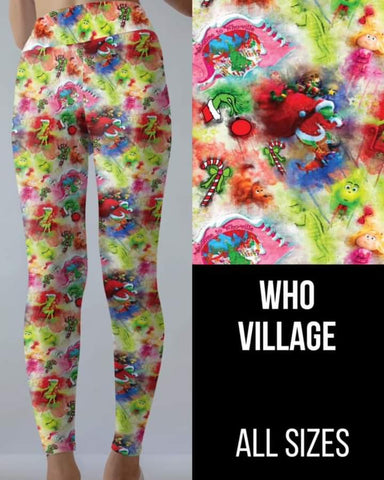 Who Village Leggings