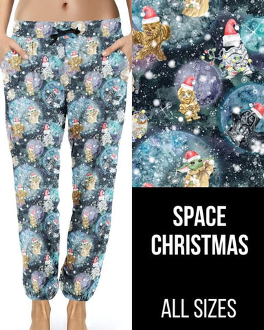 Space Christmas Jogger