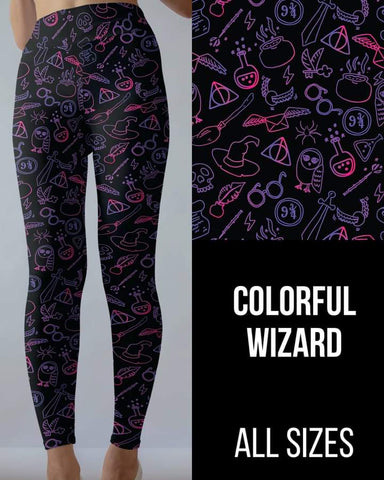 Colorful Wizard Leggings