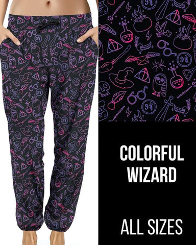 Colorful Wizard Jogger