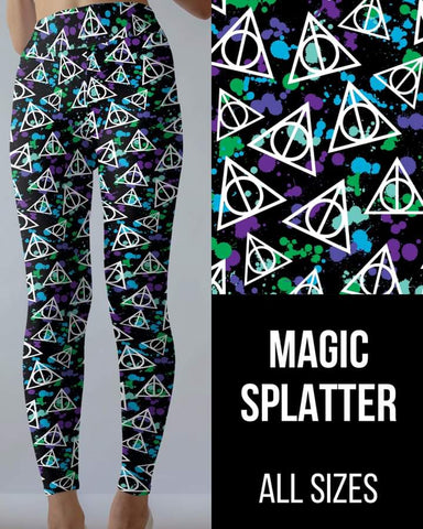 Magic Splatter Leggings