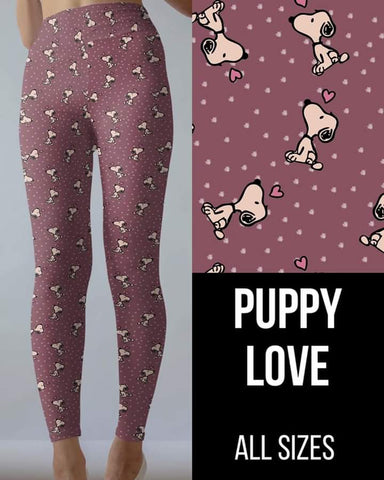 Puppy Love Leggings