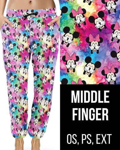 Middle Finger Joggers