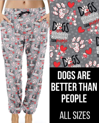 Dogs Better than People Joggers