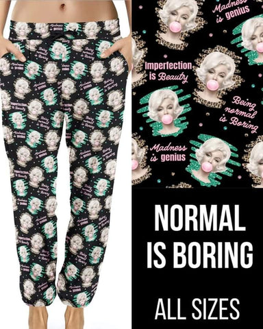 Normal is Boring Joggers