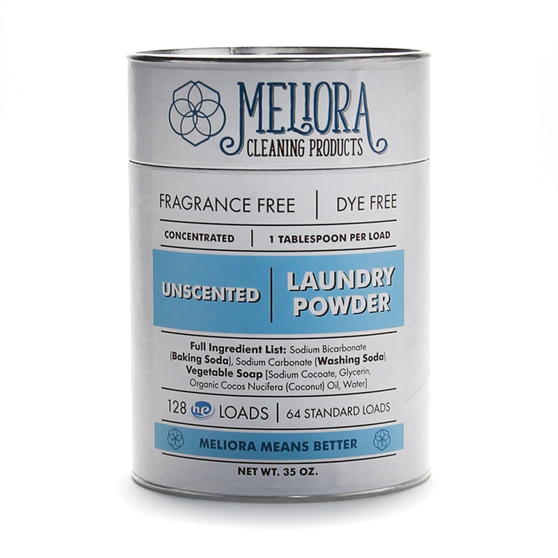 TOXIC FREE MELIORA CLEANING PRODUCTS - LAUNDRY POWDER