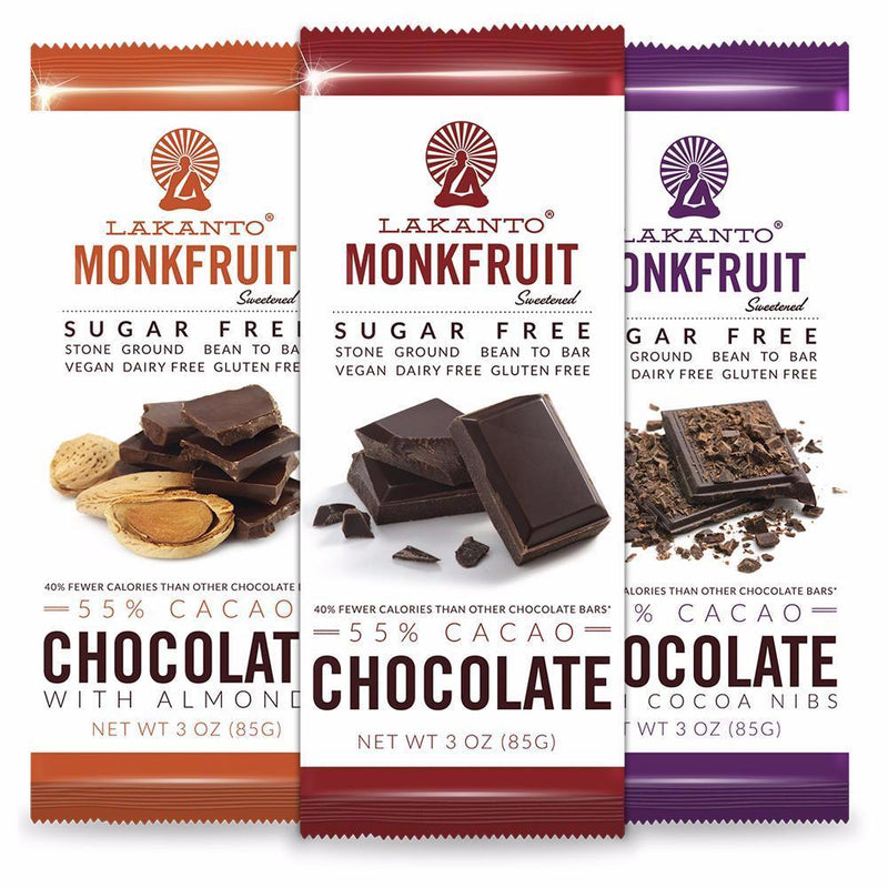 Sugar Free 55% Chocolate Bars