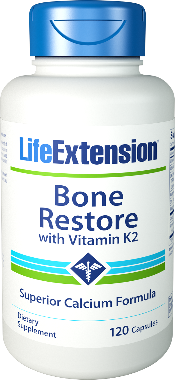 TOXIC FREE BONE RESTORE WITH VITAMIN K2 - NUTRIENTS FOR BONE DENSITY