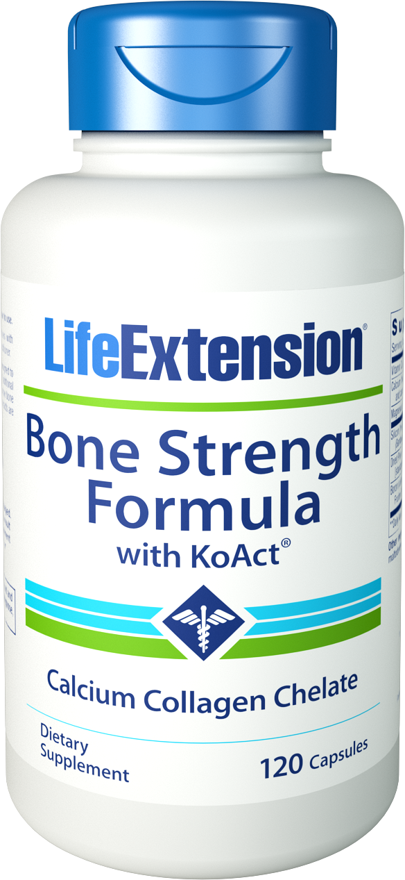 TOXIC FREE BONE STRENGTH FORMULA WITH KOACT®