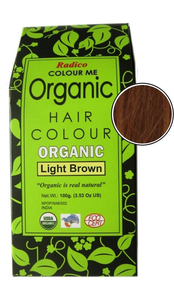 toxic free hair dye - Light Brown