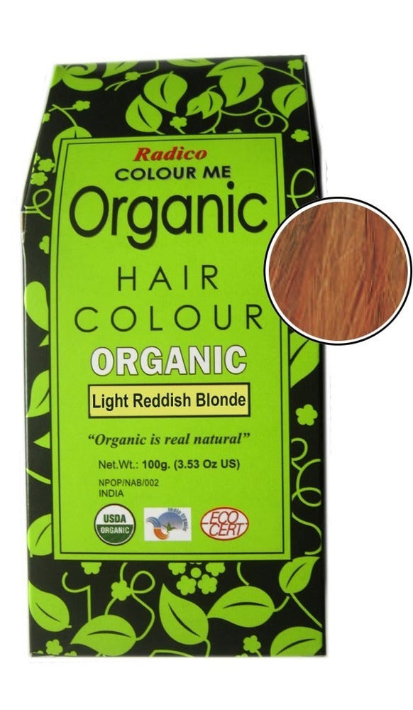 non toxic chemical free hair color dye - light reddish blonde