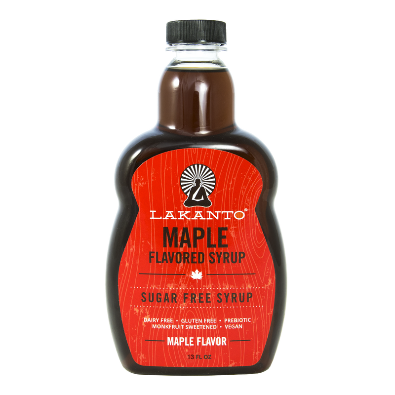 Maple Flavored Sugar-Free Syrup