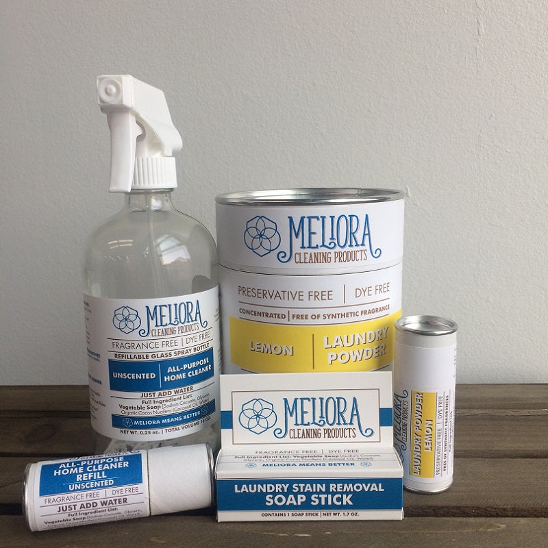 MELIORA CLEANING PRODUCTS - MASTER NON-TOXIC CLEANING BUNDLE