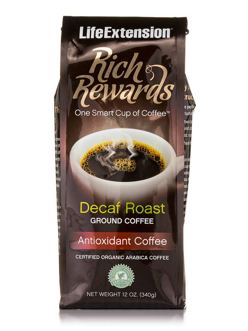 ORGANIC RICH REWARDS® DECAF TOXIC FREE COFFEE ROAST
