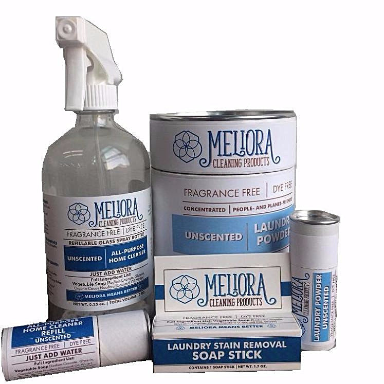 MELIORA CLEANING PRODUCTS - MASTER TOXIC FREE CLEANING BUNDLE