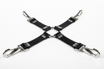 Rubber Hog-Tie Harness w/ Heavy Duty Clips