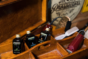 Prospectors Barbershop Beard oil - Barbas largas