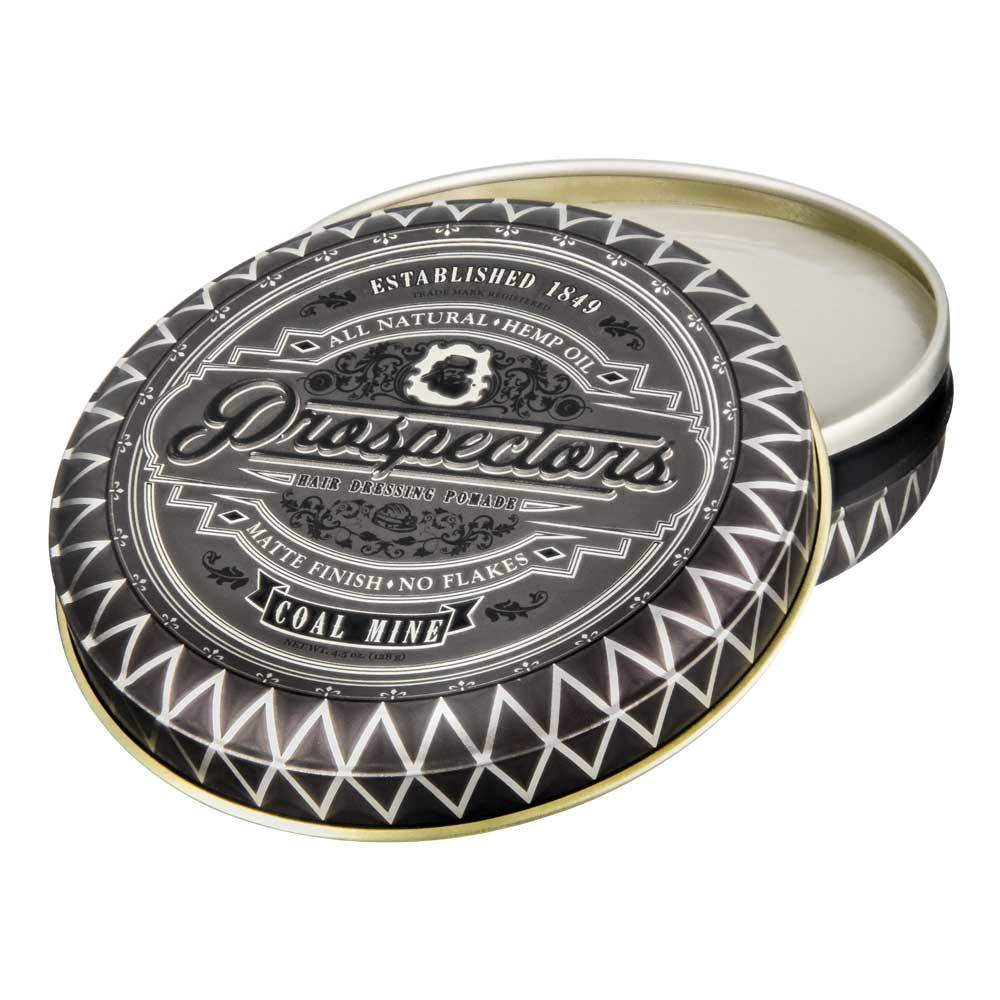 Prospectors pomade Coal Mine - Fijación media Brillo matte