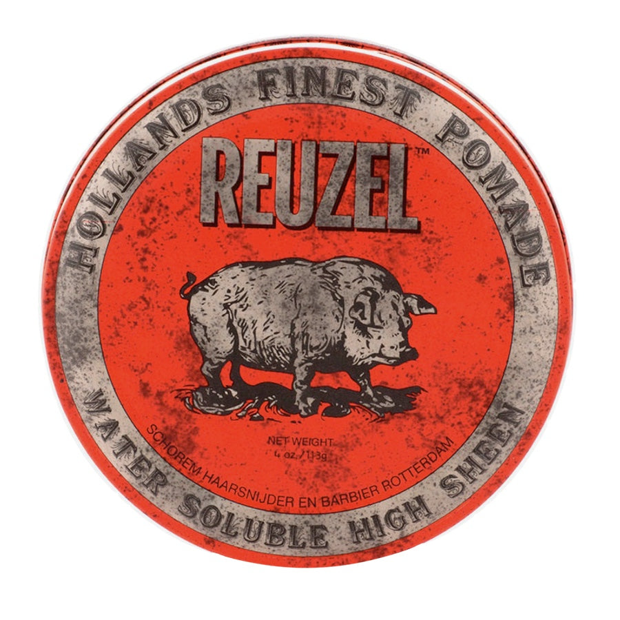Reuzel Red Pomade - Fijación media brillo alto