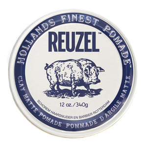 Reuzel Clay Matte Pomade - Fijación media brillo mate