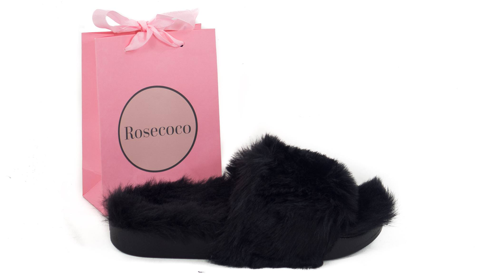 Puhasti natikači RoseCoco Black Winter