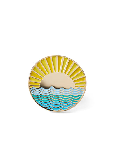 Sunny Side Pin + Postcard