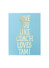 Coach + Tami Card