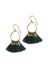 Green Juliet Earring by Bluma Project