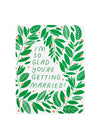 Vines Married Card