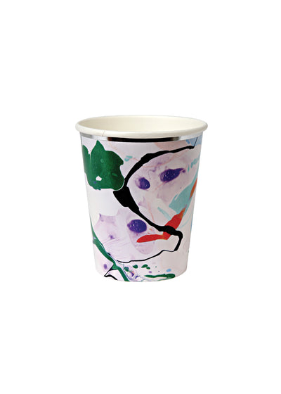8 Marble Party Cups