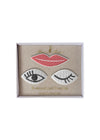 Eyes and Lips Brooches