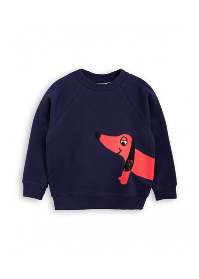 Kids Navy Dog SP Sweatshirt