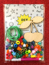 DIY Cherries Necklace Kit