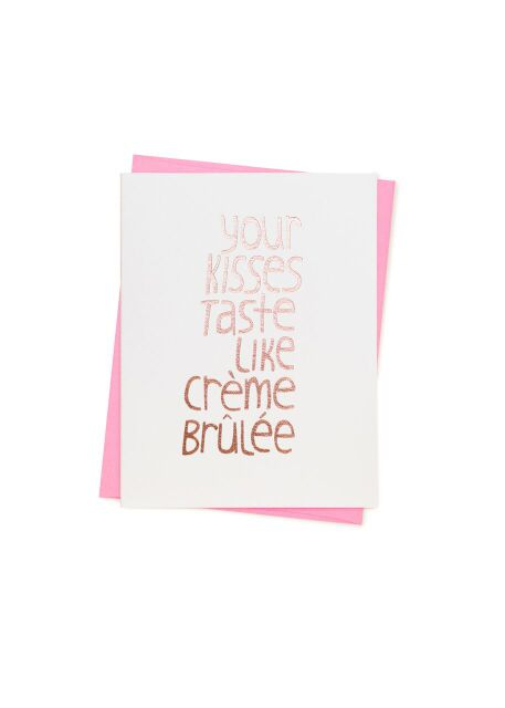 Kisses Card