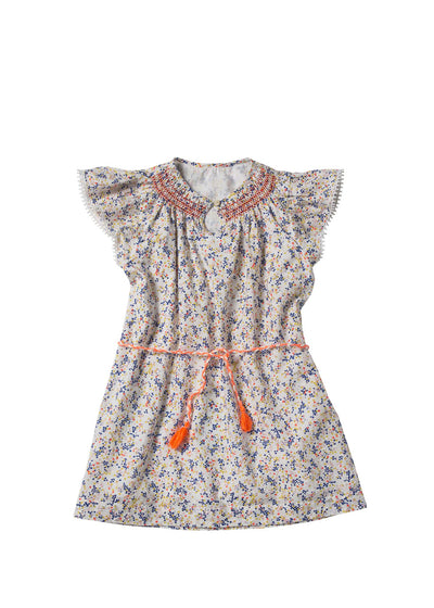 Girls Mixed Dots Anais Dress