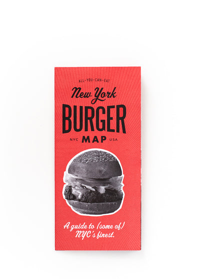 New York Burger Map Vol. 2
