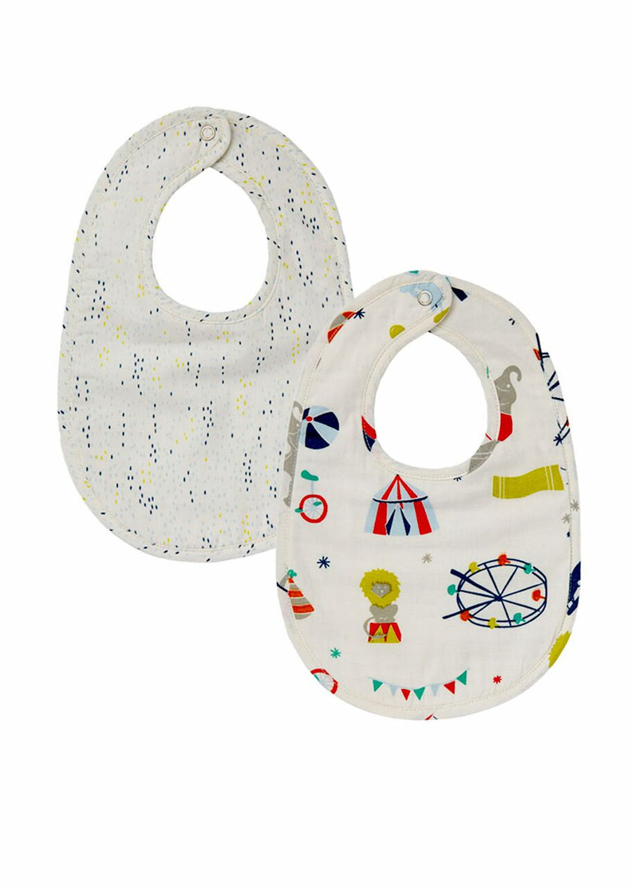 Big Top Bib Set of 2