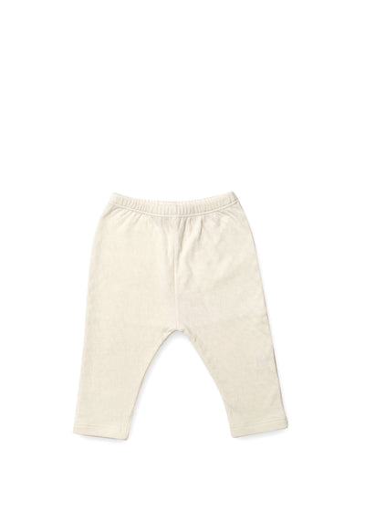 Ecru Pointelle Pants