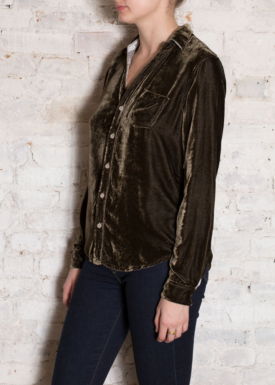 Mink Velvet Sloane Button Shirt