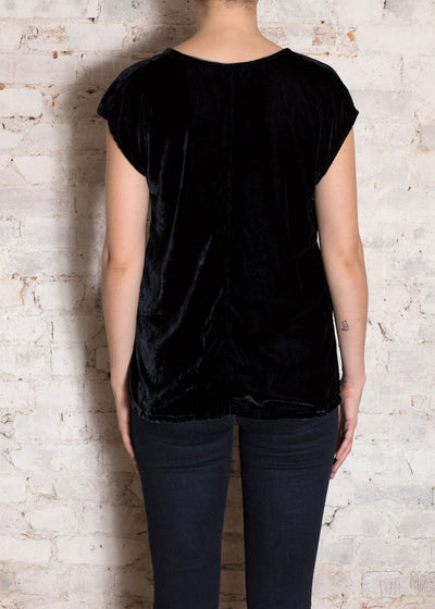 Ink Velvet Sol V-Neck Blouse
