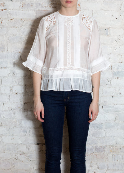 White Cassiopea Blouse