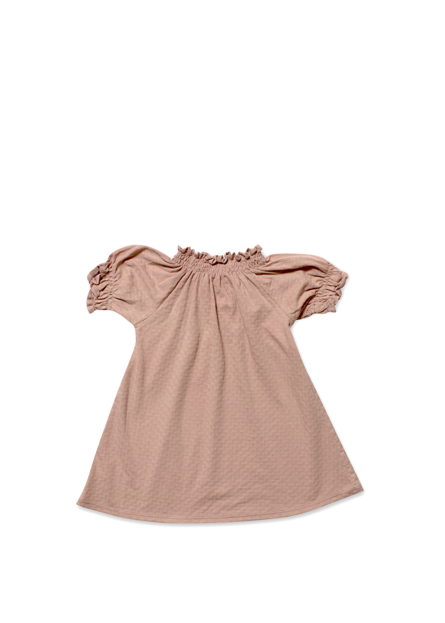 Orchid C/S Ruffle Dress