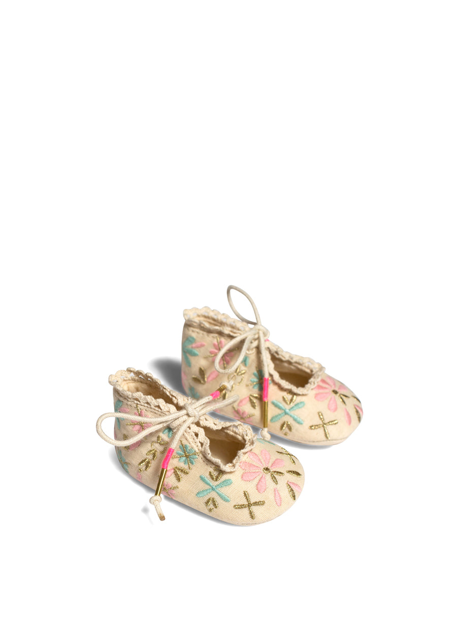 Baby Beige Poussin Slippers