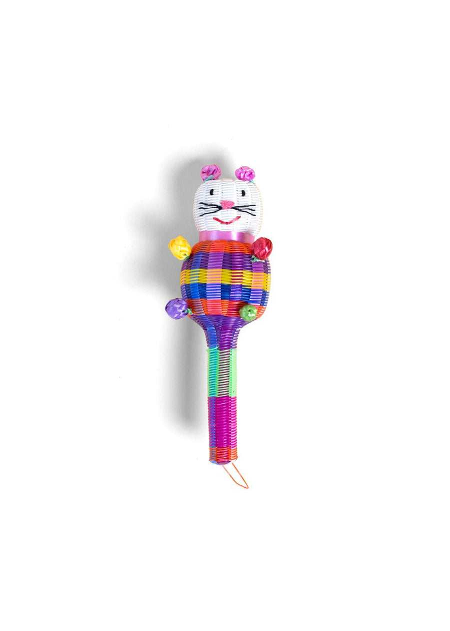 Mexican Kitty Cat Rattle