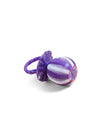 Pacifier Woven Baby Rattle