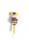 Clown Woven Baby Rattle